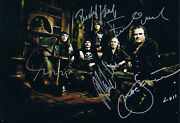 Krokus Genuine Autograph 8x12 Photo Signed In Person Swiss Heavy Metal Band