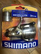 Shimano Sedona 2500 Rb Spinning Real New In Packaging Extra Spool Nice