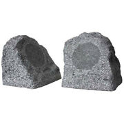Earthquake Sound Granite-52 5.25 200w Coaxial Outdoor Rock Speakers Pair
