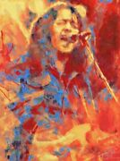 Rory Gallagher Print Poster   13 X 19 Inch   Direct From The Artist