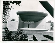 1957 Bandshell Clearwater Coachman Park Downtown Florida Business Photo 7x9