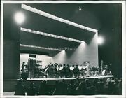 1957 Bayfront Facility Clearwater Bandshell Concert Florida Musician Photo 7x9