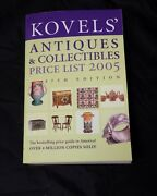 Kovels Price Guide Antiques And Collectibles Price List 2005 Ralph Kovel Book