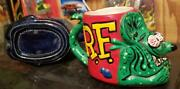 Ed Big Daddy Roth Ceramic Mugs His Work Complete Set Of 7- Low Fire Special