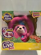 Little Live Pets Rollo The Sloth Interactive Plush Toy