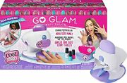 Cool Maker Go Glam Nail Stamper Deluxe Salon With Dryer For Manicures And Ped...