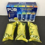 3 Pur Faucet Mount Replacement Water Filter Refills Model Rf-9999 Maxion