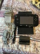 Nintendo Wii U Deluxe 32gb Black Console With Gamepad And Games