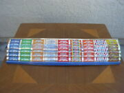 Vintage Life Savers Candy Rack Metal Front Panel Store Display 10 Flavors 28x7