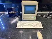 Apple Macintosh Classic Working M0420 Includes Keyboard And Mouse Vintage Rare
