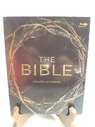 The Bible Blu-ray Disc 2013 4-disc Set The Epic Miniseries W/ Slipcover New