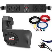 Can-am Maverick Bt Overhead Sound Bar And Amplified Subwoofer System