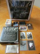 2021 Game Of Thrones The Iron Anniversary Series 1 Mini-master Set With 6 Sets
