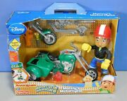 Vintage Fisher Price, Disney Manny's Motorcycle Plastic Toy With Sound