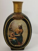 Vintage Beam's Choice Maidservant Pouring Milk Jim Beam Empty Whiskey Decanter