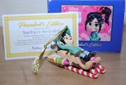 Grolier / Early Moments Disney Wreck It Ralph Vanellope Porcelain Tree Ornament