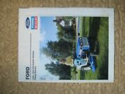 Ford Lawn Yard And Garden Tractors Riding Mowers Brochure