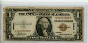 1935 A 1 Silver Certificate Hawaii Note Brown Seal 6098