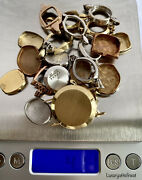 14k Solid Gold Scrap Lot Total 41.1 Grams Clean Without Stones