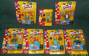 The Simpsons Intelli-tronic Fig. 6 + Toyfare Exclusive Pin Pal Mr.burns 2000