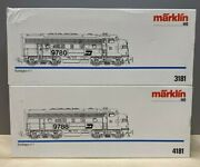 Marklin 3181 And 4181 F7 A-a Burlington Northern. Conventional. Brand New.