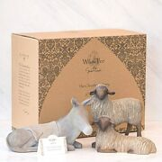 Willow Tree Gentle Animals Of The Stable 3-pc Set Damaged Box