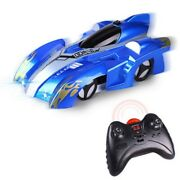 Childs Children Kids Racing Wall Climbing Rc Cars Battery Charging Xmas Toy Gift