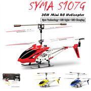 Syma S107g 3ch Rc Helicopter Phantom Metal Mini Remote Control Helicopter Gyro