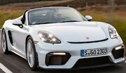 Porsche 718 Cayman Gt4 Style Boxster Spyder Style And03917-and03921 Front Bumper Poly