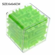 3d Magic Cube Maze Intellect Puzzle Ball Speed Logic Think Game Labyrinth Roll