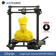 Anycubic Chiron 3d Printer Matrix Automatic Leveling Extruder Dual Z Axis Pla Us