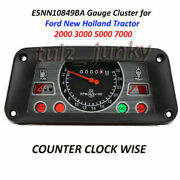 E5nn10849ba Gauge Cluster For Ford New Holland Tractor 2000 3000 5000 7000