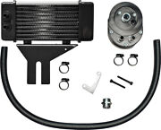 Jagg Oil Coolers Lowmount 10-row Oil Cooler Chrome 750-2580