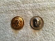 1971 Jf Kennedy Half Dollar And 1981 Gold Plated Liberty 3 D Punch Out
