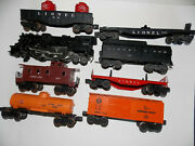 Lionel 1589ws Or 737 Seven Car Freight Train Set With 2037 Loco And 6026w Tender