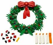 Lego 40426 Christmas Wreath 2-in-1 Candles Bow Holidayandnbspdecorations New Sold Out