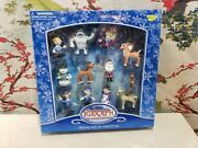 Rudolph Red Nosed Reindeer Holiday Clip-on Keychain Collection Ornaments 12 Pc.