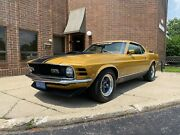 1970 Ford Mustang Mach 1 - 5spd 1970 Ford Mustang Mach 1 351 Cleveland 4v Manual California 1969