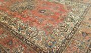 11'6x18'4 Antique C1920 Hand-knotted Kurdish Sultan-abd Tribal Muted Wool Rug