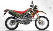 Kungfu Graphics Decals Sticker Camouflage Wrap Kit For Crf250l Crf250m 2012-2020