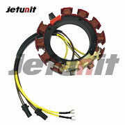 For Johnson Evinrude Omc Outboard Stator 583668 1983-1988 150-235hp 2.5-2.7l6cyl