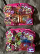 Jungle In My Pocket New Crystal Little House Pony In My Pocket Set