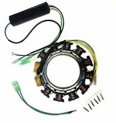For Mercury/mariner Outboard Stator Kit 398-832075a21 30-125hp 16-amp 2/3/4 Cyl.