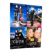 Castle Dvd Season 1 2 3 4 Complete First Second Third Fourth Nathan Fillion Lot4