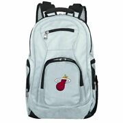 Miami Heat Laptop Backpack In Gray