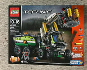 Lego 42080 Technic Forest Machine 2 In 1 Box Wear Power Functions Pneumatic