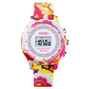 Colorful Multi-function Led Color Lamp Waterproof Digital Watch For Kids Gift