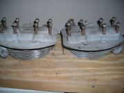 950 Harley Panhead Front And Rear Cylinder Heads