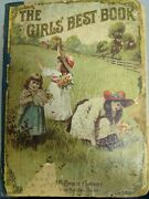 The Girls Best Book Stories And Poems 1894 Color Cover W.b Conkey Co.