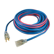 Extreme 25 Ft. 16/3 All Weather Extension Cord With Lighted Plug